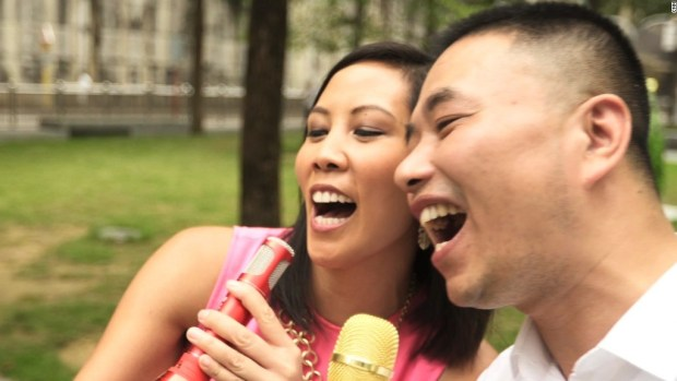 Karaoke on the go in China