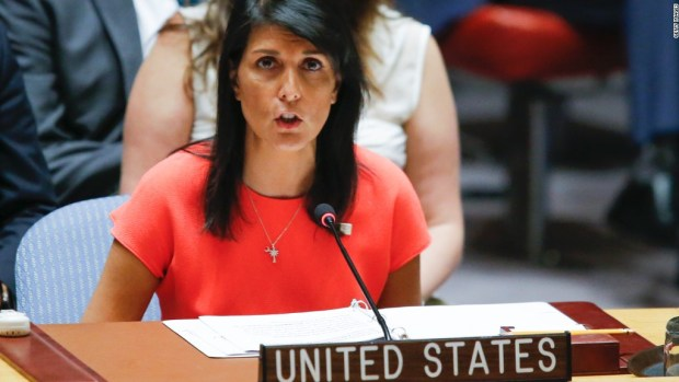 Haley: Sanctions are a gut punch to N. Korea