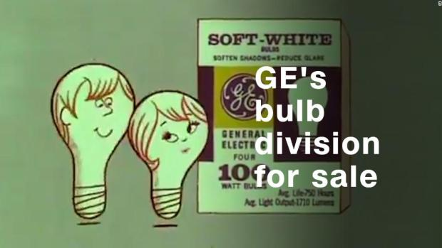 GE losing bulb division, lives on in retro ads