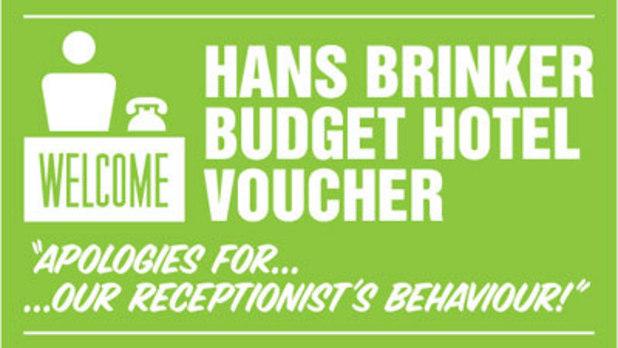 Hans Brinker Budget Hotel Voucher