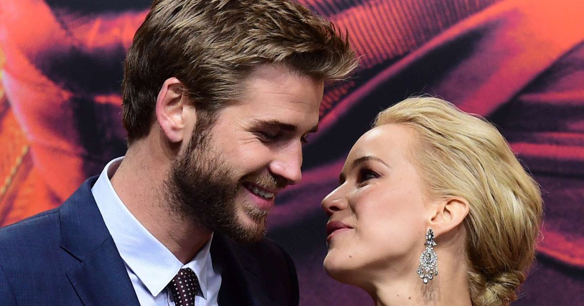 Image result for jennifer lawrence and liam hemsworth