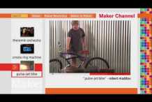 Maker Channel 103 on MAKE:&nbsp;television