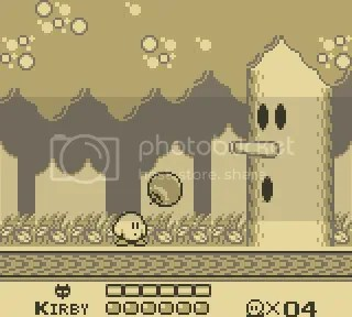 Kirby was originally ghostly white The Top 20 Game Boy Games of All Time: #20-16 The Top 20 Game Boy Games of All Time: #20-16 17Kirbyingame