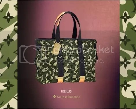 Louis Vuitton Monogramouflage Treillis