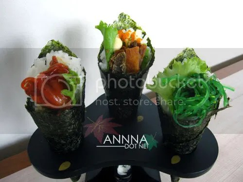 Ten Ichi Japanese Restaurant - Sushi Handroll Set
