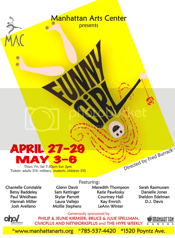 manhattan arts center funny girl