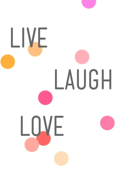 6 free iPhone wallpaper pretties - Fat Mum Slim