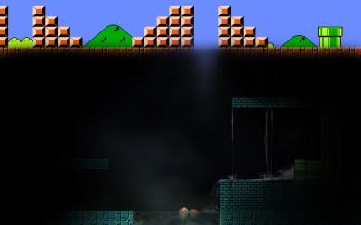 [Imagen] Wallpaper: Game over (HD) - Mario Bros. Comunidad Oficial, - Taringa!