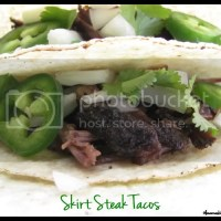 Slow-cooker Skirt Steak Tacos