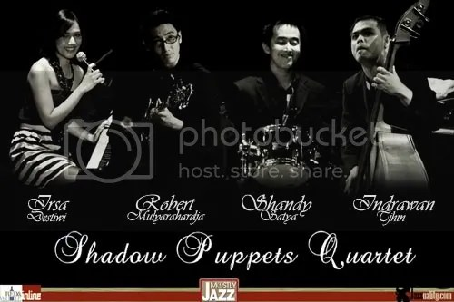 shadow puppets, shadow puppets quartet, mostly jazz, jakarta anniversary ix, strings attached concert series