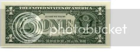 dollar bill photo: Dollar Bill before dollarback.jpg