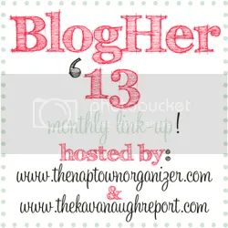 BlogHer 13 Monthly Link Up