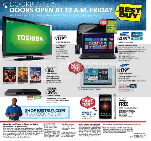 Black Friday - Thanksgiving Day Store Hours