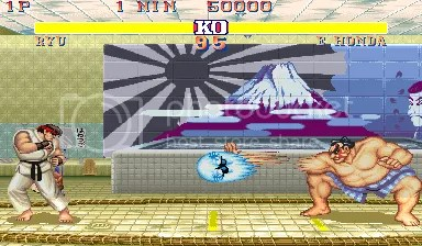 Street Fighter de Rodoviária
