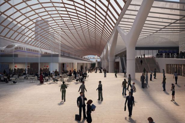 How Piccadilly station could look after the arrival of HS2