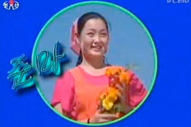 North Korean singer, Hyon Song Wol of former band Bochonbo Electronic Music Band