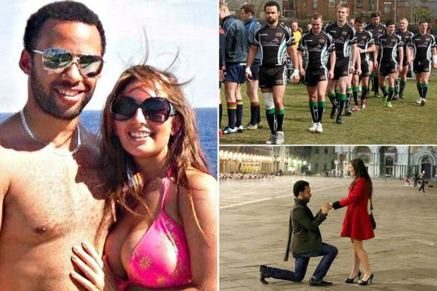 Anthony Hughes proposing to his fiance Charlotte. Anthony Hughes a rugby league player who was planning to marry hanged himself just four days after his bride-to-be broke off their engagement, an inquest heard.