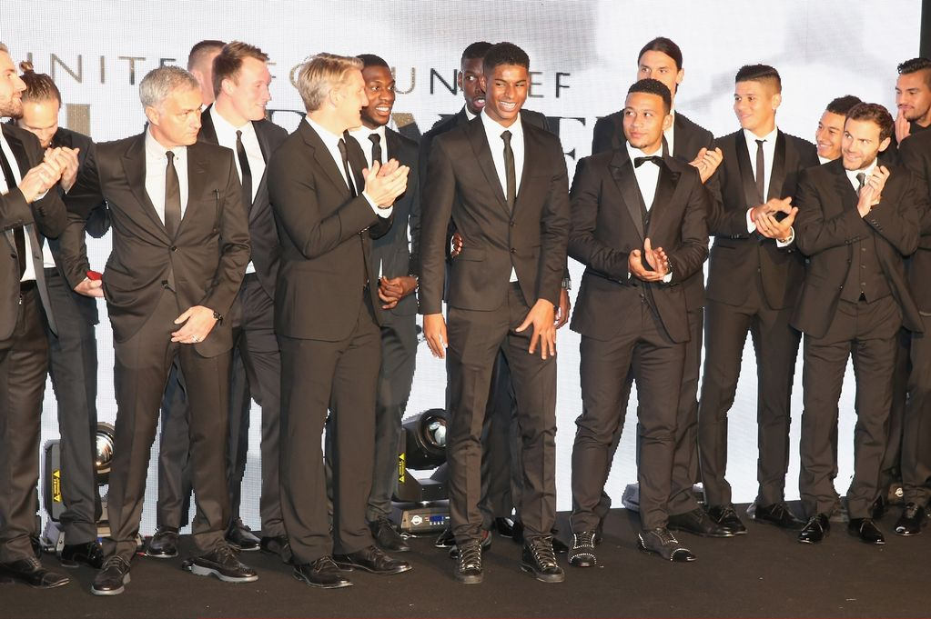 The Manchester United squad