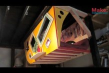 The Krunk Bunk (Micro Sleep-Loft) &#8211; Tiny Yellow&nbsp;House