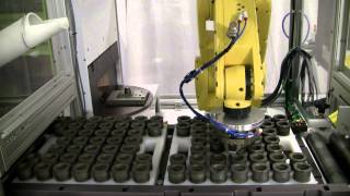 Industrial Laser Marking Systems with Robotic Part Handling | CMS Laser