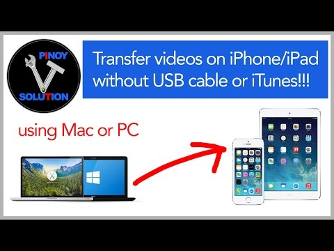 how to connect iphone to mac without cable