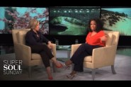 "Brene Brown interviewed by Oprah in a two-part episode of ""Super Soul Sunday"""