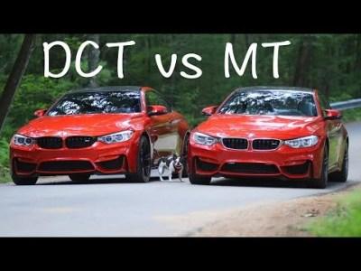 BMW M4 med och utan automatlåda. Vilken ska man välja? | Tjock / Garaget