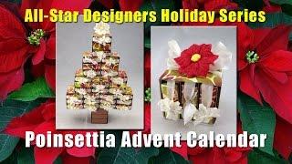 All-Star Designers Holiday Series: Poinsettia Advent Calendar