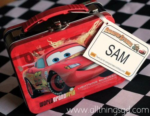 Cars Themed Birthday Party, Cars Party Favors