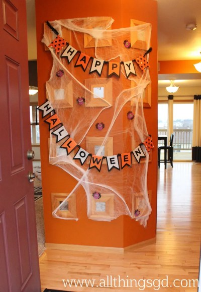 Non-Scary Halloween Decorations | www.allthingsgd.com