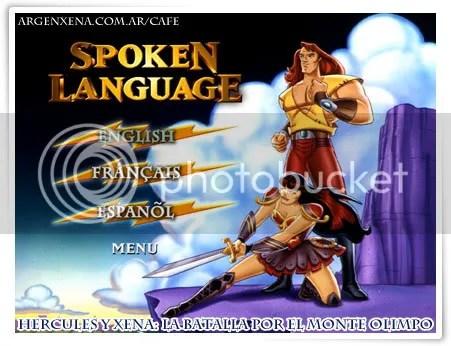Menú de idiomas