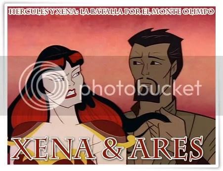 Xena y Ares