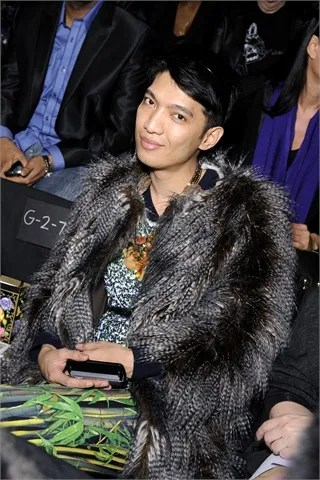 Bryanboy at Anna Sui