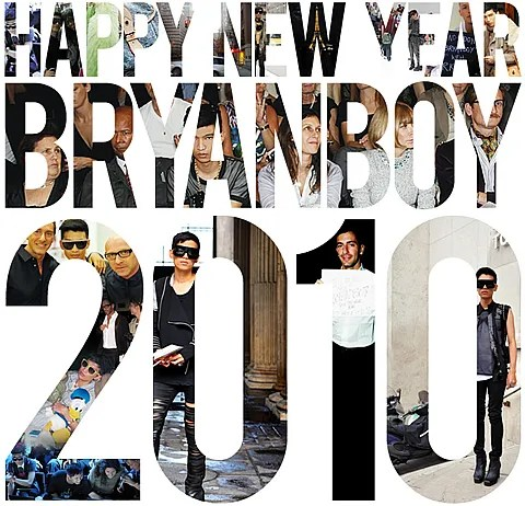 Bryanboy Happy New Year