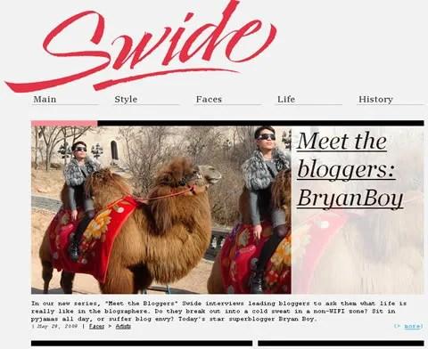 Bryanboy at Dolce & Gabbana Swide