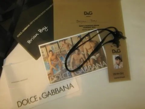 Dolce & Gabbana Spring Summer 2010 invites