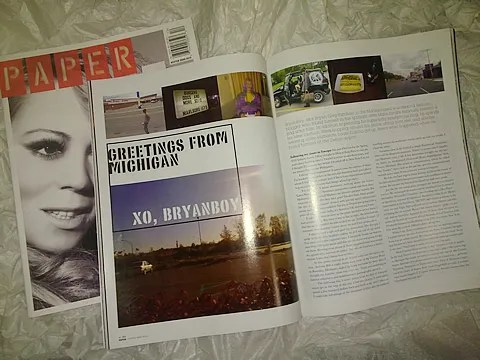 Paper Magazine Mariah Carey Winter 2009-2010: Greetings from Michigan by Bryanboy