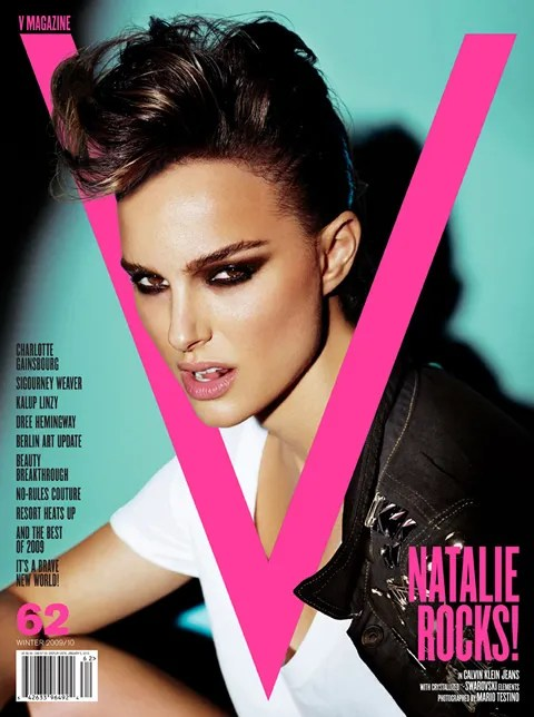 pics of Natalie Portman for V Magazine 62 Cover