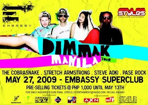 The Cobransnake and Steve Aoki in Manila