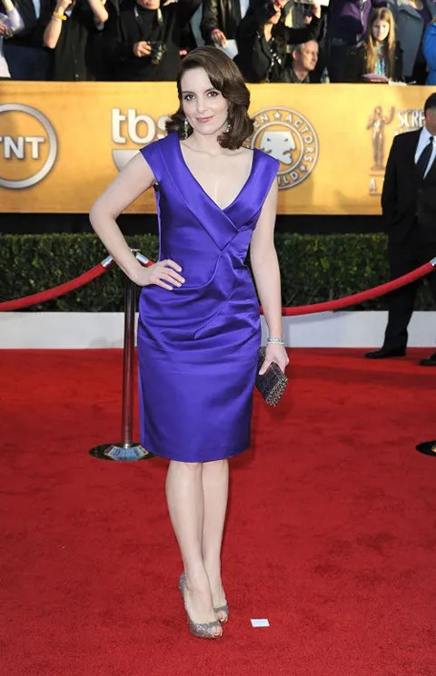 Tina Fey at 2010 Screen Actors Guild Awards