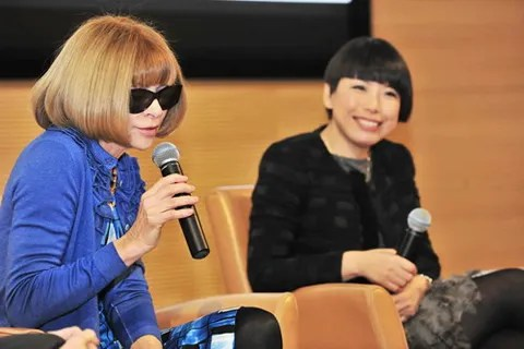 Anna Wintour in Beijing