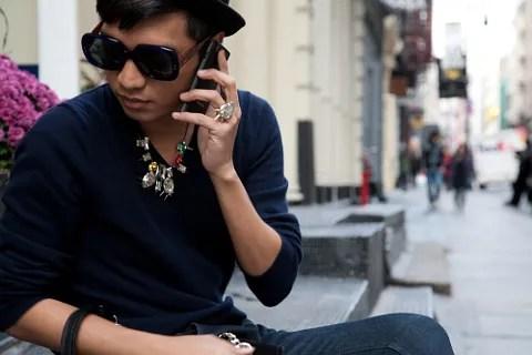 Giorgio Armani Galaxy GT-I9010 phone