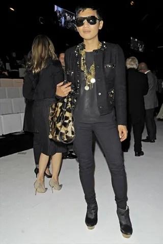 Bryanboy at Dolce & Gabbana Spring Summer 2011