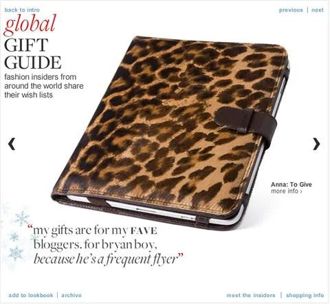 Trussardi leopard print case