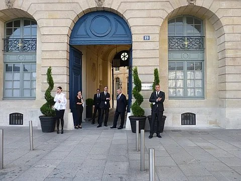 Givenchy Haute Couture Fall 2010 - 19 Place Vendome, Paris