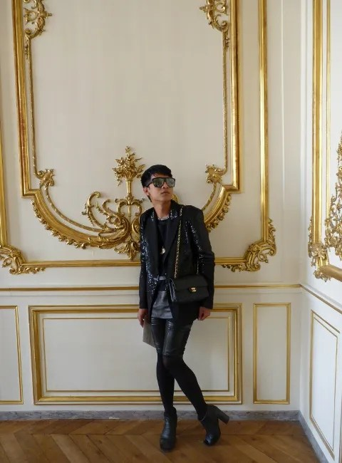 Bryanboy at Givenchy Haute Couture Fall 2010