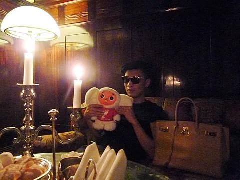 Bryanboy at Grand Hotel Europe