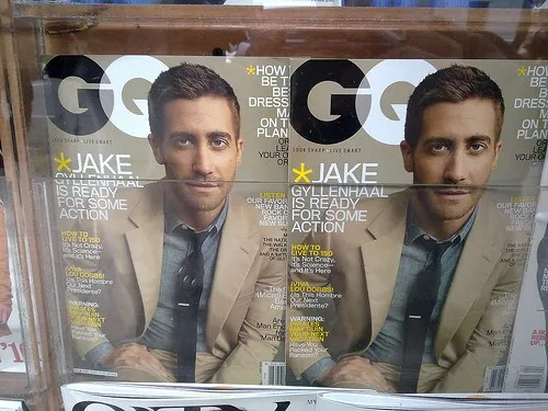 Jake Gyllenhaal for GQ Magazine Cover May 2010 issue