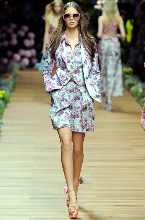 Jessica Clarke for D&G Spring Summer 2011
