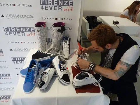 Tommy Hilfiger x Keith Haring Sneakers